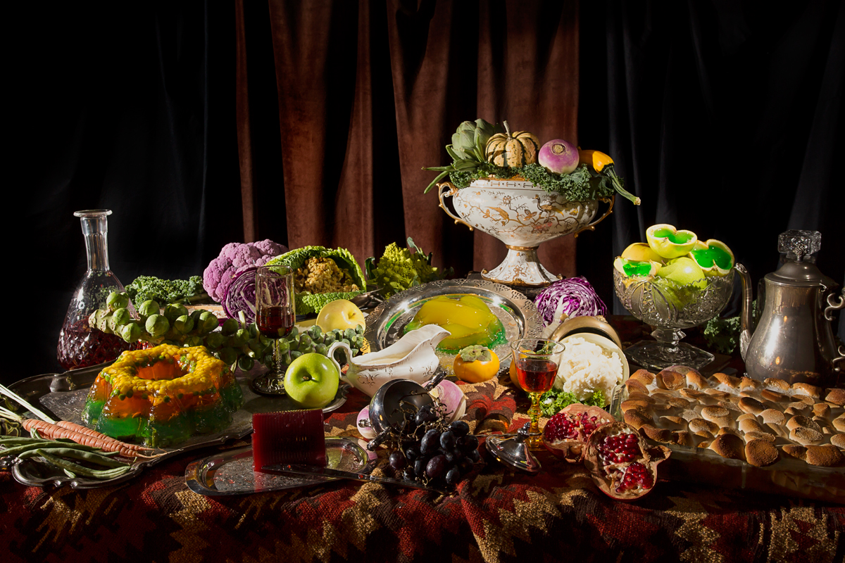 The Cornucopia, Still Lifes with Past, Present and Future Food
